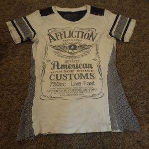 Affliction Tops - UNIQUE AFFLICTION TOP!!!